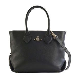 Vivienne Westwood(ヴィヴィアンウエストウッド) ハンドバッグ 42050011 N401 BLACK