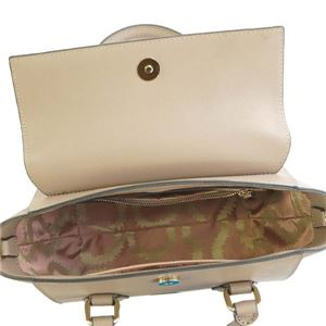 Vivienne Westwood(ヴィヴィアンウエストウッド) ハンドバッグ 42010032 D401 TAUPE