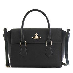 Vivienne Westwood(ヴィヴィアンウエストウッド) ハンドバッグ 42020035 N401 BLACK