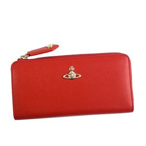 Vivienne Westwood(ヴィヴィアンウエストウッド) L字ファスナー長財布 51050010 H401 RED