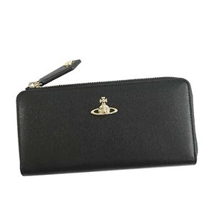 Vivienne Westwood(ヴィヴィアンウエストウッド) L字ファスナー長財布 51050010 N460 BLACK