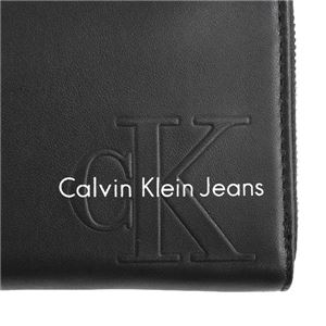 Calvin Klein(カルバンクライン) ラウンド長財布 K40K400199 1 BLACK