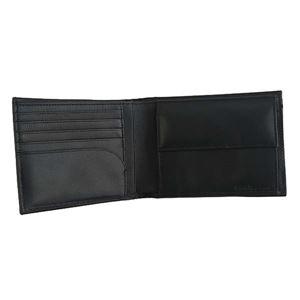 Calvin Klein(カルバンクライン) 2つ折小銭付き財布 K50K503742 1 BLACK