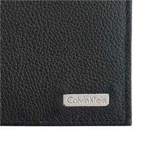 Calvin Klein(カルバンクライン) 2つ折小銭付き財布 79215 BLK BLACK