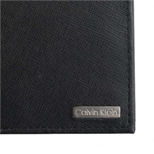 Calvin Klein(カルバンクライン) 2つ折小銭付き財布 79393 BLK BLACK