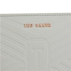 TED BAKER(テッドベーカー) ラウンド長財布 143144 9 LIGHT GREY