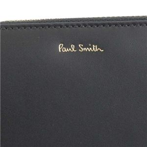 Paul smith(ポールスミス) ラウンド長財布 AUPC4778 79 BK