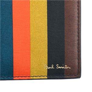 Paul smith(ポールスミス) 2つ折小銭付き財布 AUPC4833 96 MULTI