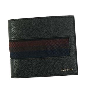 Paulsmith(ポールスミス)2つ折りカード財布AUPC483279BK
