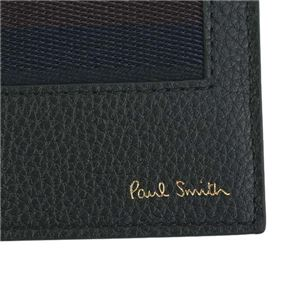 Paul smith(ポールスミス) 2つ折りカード財布 AUPC4832 79 BK