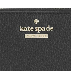 KATE SPADE(ケイトスペード) ラウンド長財布 PWRU5596 1 BLACK