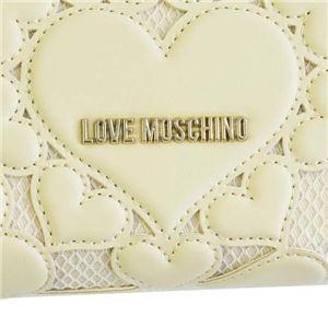 LOVE MOSCHINO(ラブモスキーノ) ラウンド長財布 JC5518 10A