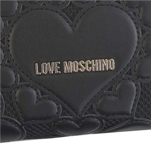 LOVE MOSCHINO(ラブモスキーノ) ラウンド長財布 JC5518 00A