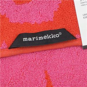 marimekko(マリメッコ) タオル 63837 330 RED/PINK