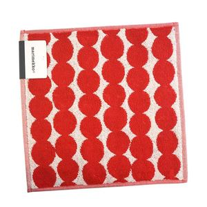 marimekko(マリメッコ) タオル 68762 130 WHITE/RED
