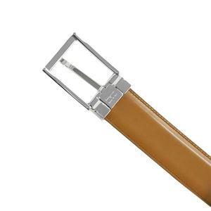 Ferragamo(フェラガモ) ベルト 679301 675159 NERO CUOIO 長さ117 幅3.5 バルト穴5