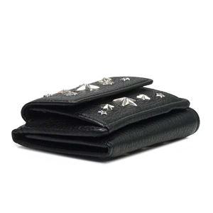 Jimmy Choo(ジミーチュウ) 3つ折小銭付き財布 NEMO BLACK