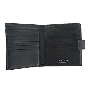Jimmy Choo(ジミーチュウ) 2つ折小銭付き財布 FRIDA BLACK