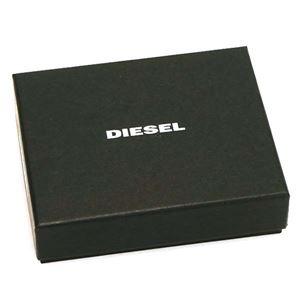 DIESEL(ディーゼル) 2つ折小銭付き財布 X05601 H6819 JAVA/TEAL GREEN
