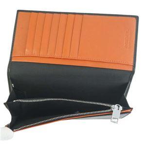 DIESEL(ディーゼル) 長財布 X05660 H6818 BLACK/PUREED PUMPKIN