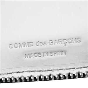 COMME des GARCONS(コムデギャルソン) ラウンド長財布 SA0110 MI SILVER