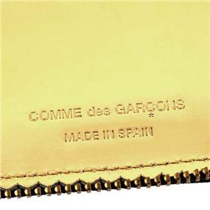 COMME des GARCONS(コムデギャルソン) ラウンド長財布 SA0110 MI GOLD