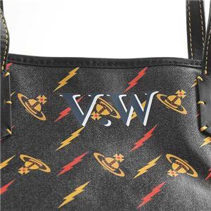 Vivienne Westwood(ヴィヴィアンウエストウッド) トートバッグ 41010017 N401 BLACK