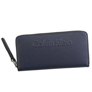 Calvin Klein(カルバンクライン) ラウンド長財布 K60K603910 430 NAVY