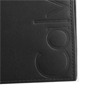 Calvin Klein(カルバンクライン) 2つ折小銭付き財布 K50K503746 1 BLACK