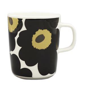 marimekko(マリメッコ) マグカップ 63431 30 WHITE/BLACK