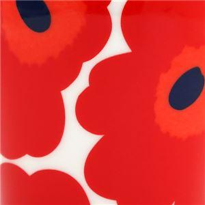 marimekko(マリメッコ) マグカップ 63431 1 WHITE/RED