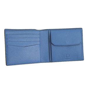 Dunhill(ダンヒル) 2つ折小銭付き財布 18F2320CA 410 NAVY