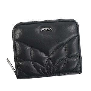 Furla(フルラ)2つ折小銭付き財布PZ68O60ONYX