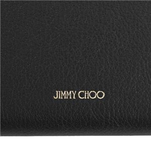 Jimmy Choo(ジミーチュウ) 2つ折小銭付き財布 CHRISTIE BLACK
