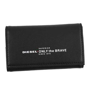 DIESEL(ディーゼル) キーケース X05588 H2691 BLACK/FIERY RED