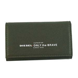 DIESEL(ディーゼル) キーケース X05588 H5931 OLIVE NIGHT/FIERY RED