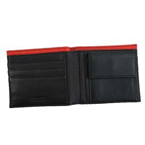 DIESEL(ディーゼル) 2つ折小銭付き財布 X05590 H2691 BLACK/FIERY RED