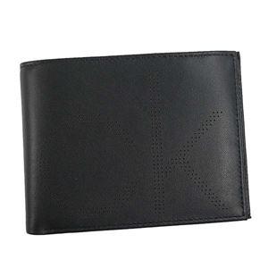 Calvin Klein(カルバンクライン) 2つ折小銭付き財布 K50K503958 1 BLACK