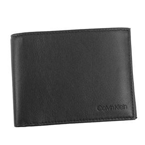Calvin Klein(カルバンクライン) 2つ折小銭付き財布 K50K503983 1 BLACK