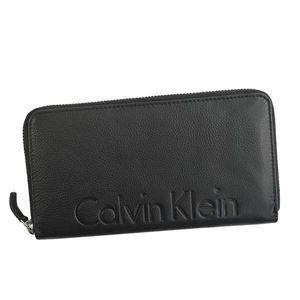Calvin Klein(カルバンクライン) ラウンド長財布 79474 BLK BLACK