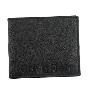 Calvin Klein(カルバンクライン) 2つ折小銭付き財布 79475 BLK BLACK