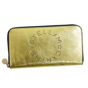 Stella McCartney(ステラマッカートニー) ラウンド長財布 502893 8000 GOLD
