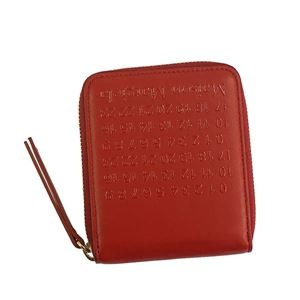 Maison Margiela(メゾン マルジェラ) 2つ折小銭付き財布 S56UI0111 T4327 RED