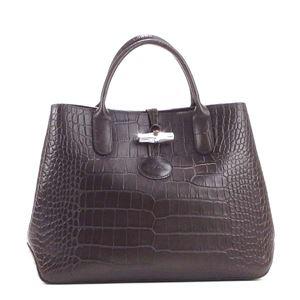 Longchamp(ロンシャン) ハンドバッグ 1986 304 EBENE h01
