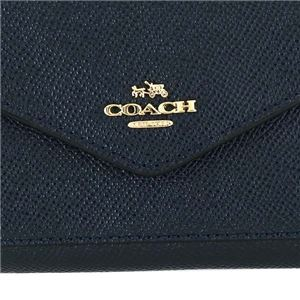 Coach(コーチ) 二つ折り財布(小銭入れ付) 58298 LINAV NAVY