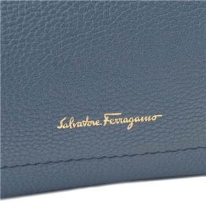 Ferragamo(フェラガモ) トートバッグ 21F478 671303 BLU STONE f05