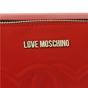 LOVE MOSCHINO(ラブモスキーノ) ナナメガケバッグ JC4291 500 ROSSO f05
