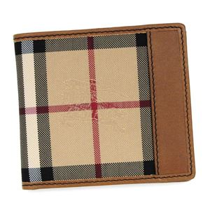 Burberry(バーバリー) 二つ折り財布(小銭入れ付)  3963270  TAN