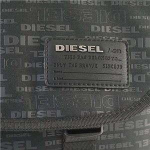 DIESEL(ディーゼル) ナナメガケバッグ  X04814 H5839 ALLOVER LOGO f04