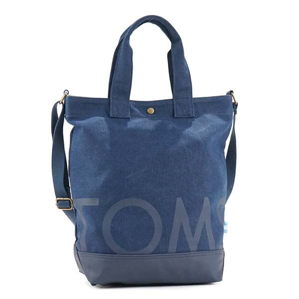 TOMS(トムス) トートバッグ 10010063 NAVYf00